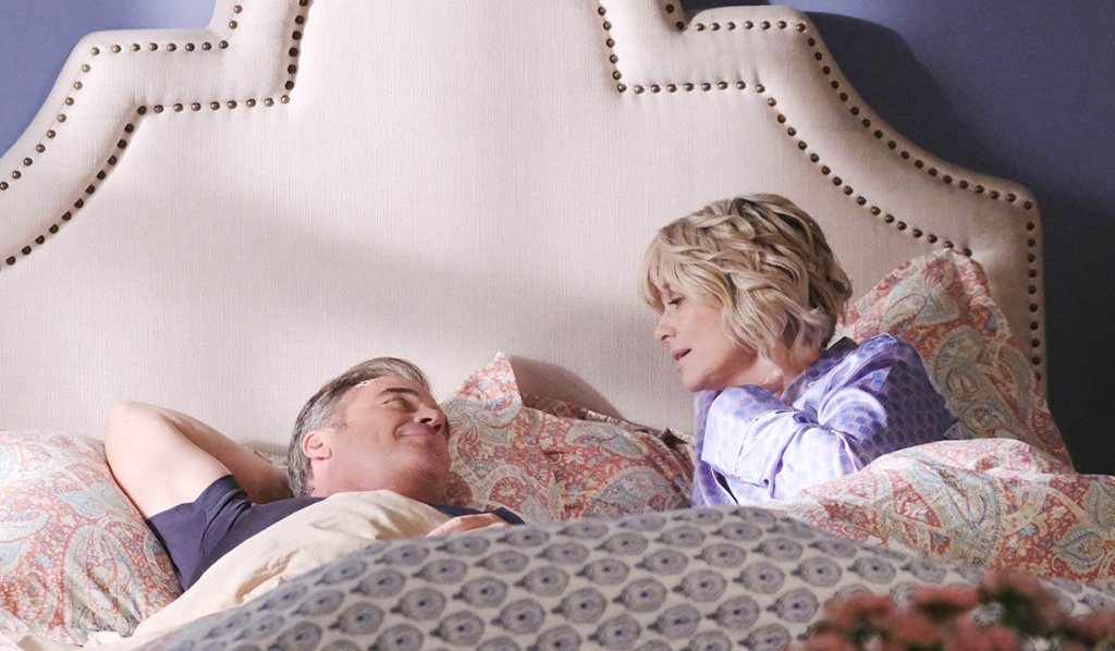 justin and kayla in bed after ordeal days of our lives