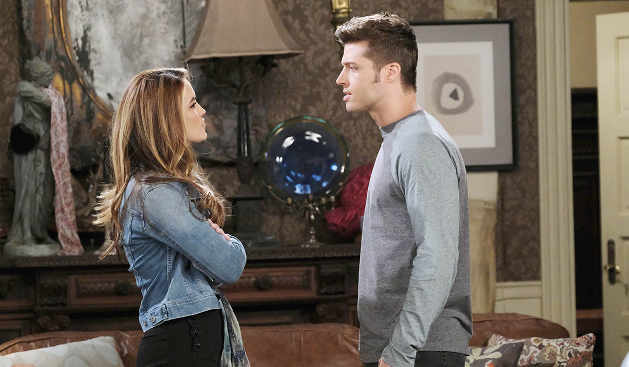 jordan argues with evan days of our lives