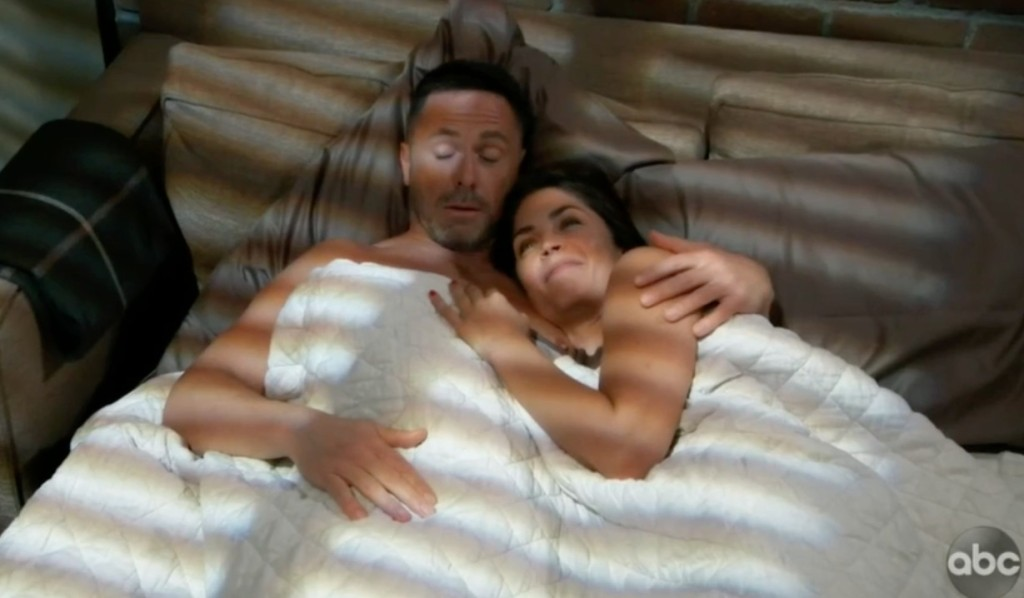 Julian and Britt wake up together on General Hospital