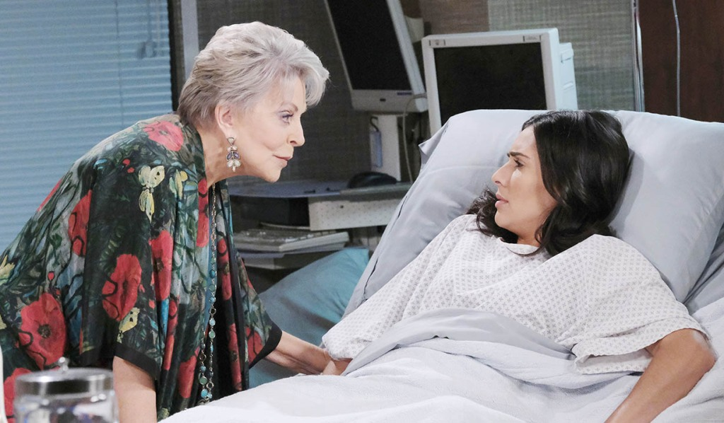 julie sneaks in on gabi hospital days of our lives
