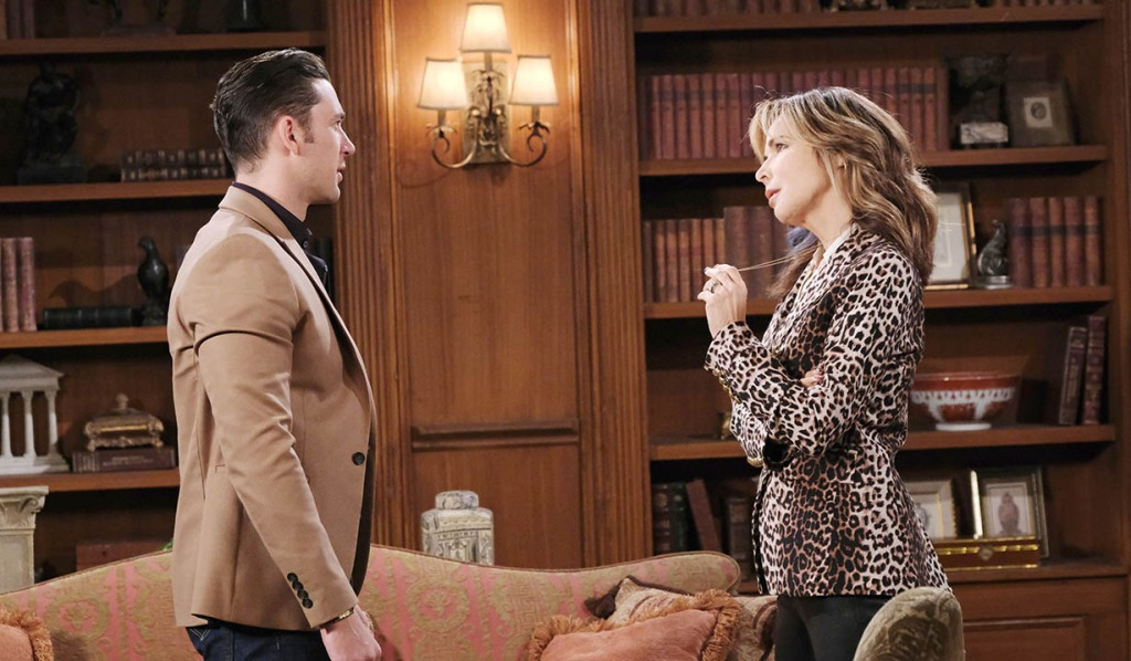 chad and kate at dimera mansion days of our lives