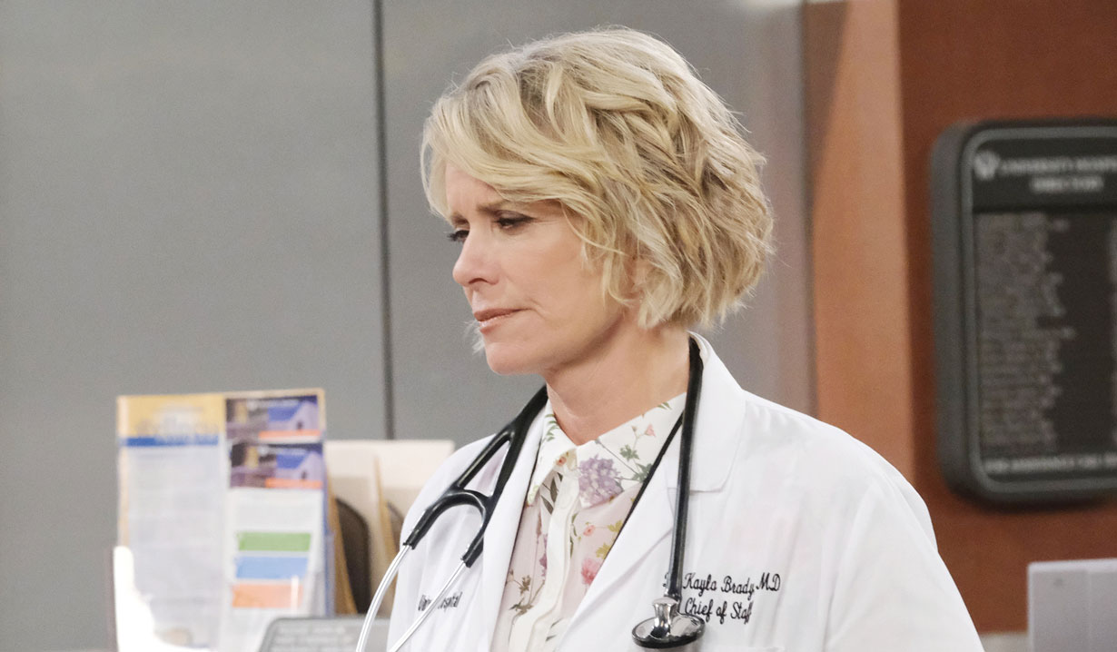 kayla makes a bold move to get steve back days of our lives