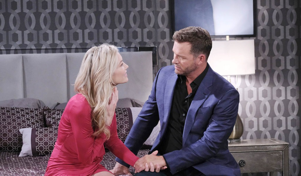 kristen and brady talk rachel in bed days of our lives