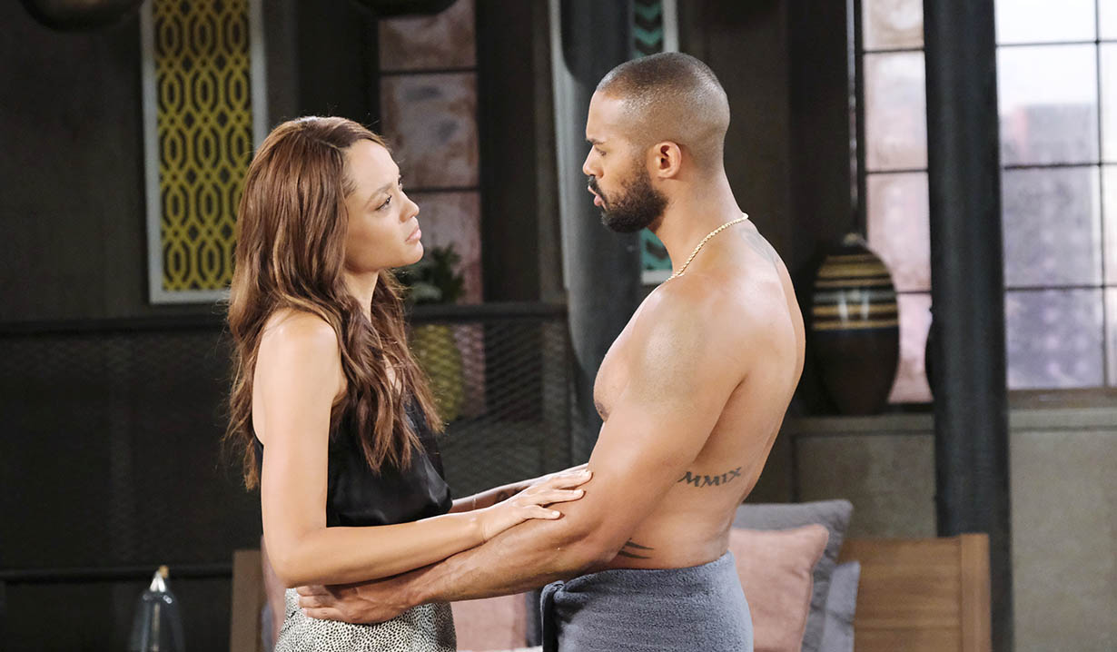 lani and eli talk david search days of our lives