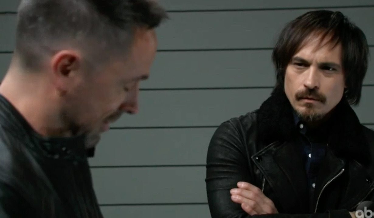 Linc and Julian on the docks on General Hospital
