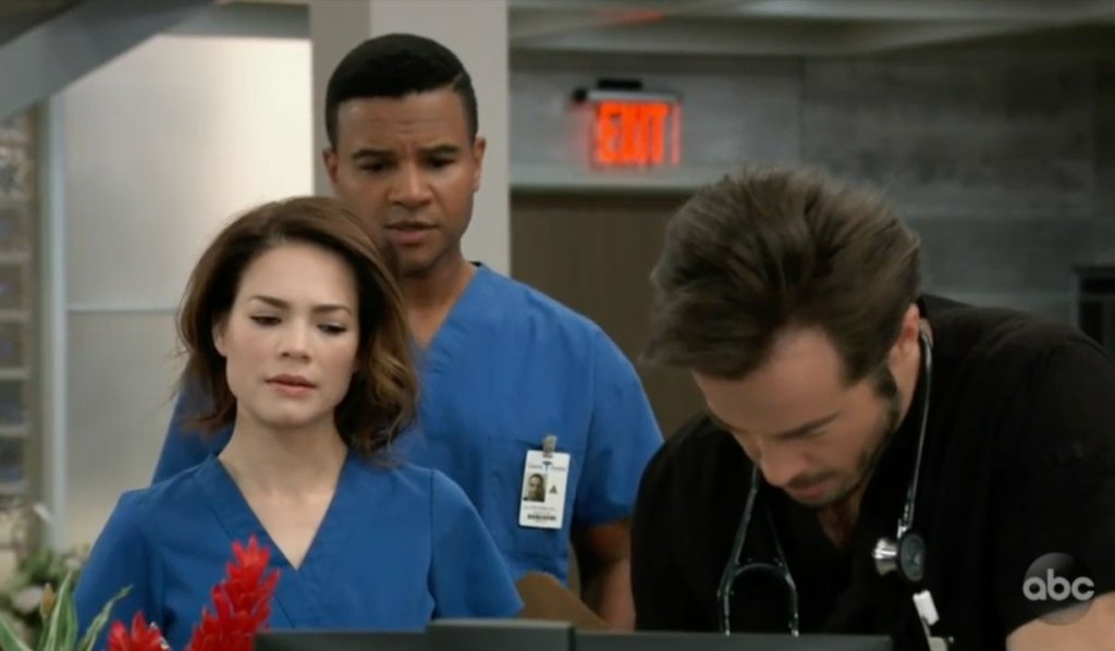 Felix and Liz worry about Lucas on General Hospital