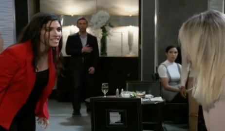 Brook Lynn and Lulu fight on General Hospital