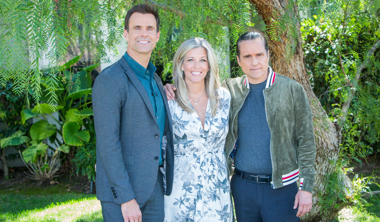 General Hospital's Maurice Benard and Laura Wright appear on Hallmark's Home & Family