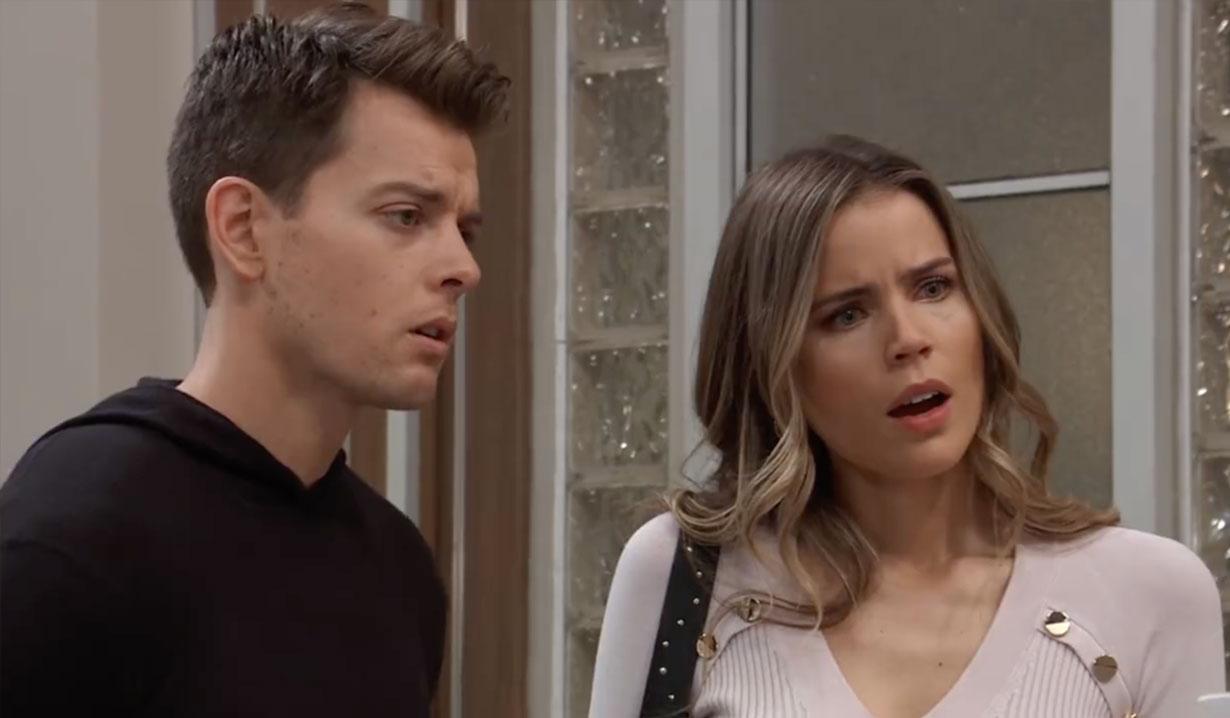Monica shocks Michael and Sasha on General Hospital