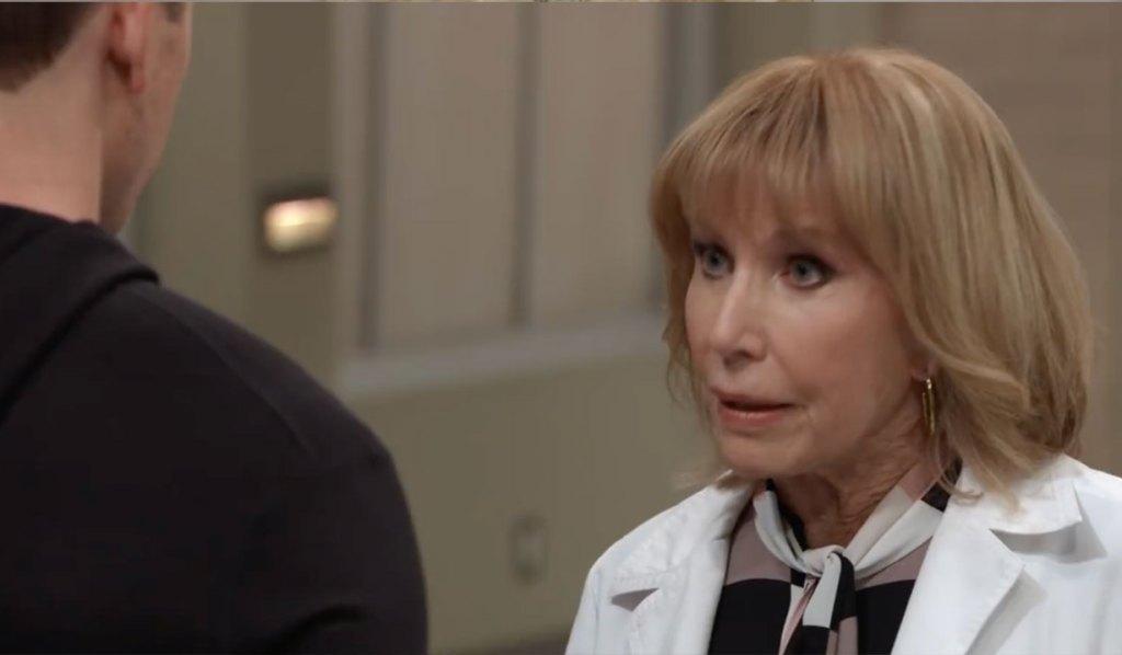 Monica delivers bad news on General hospital