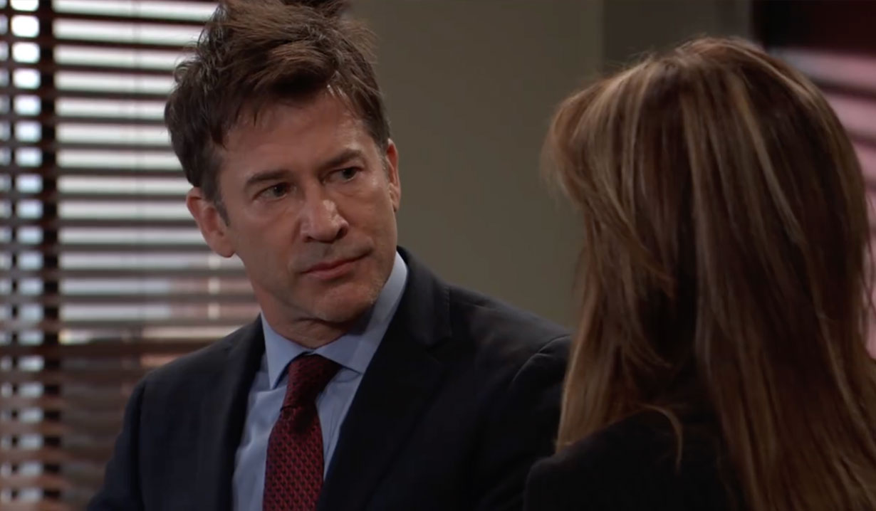 Neil and Alexis at his hearing on General Hospital
