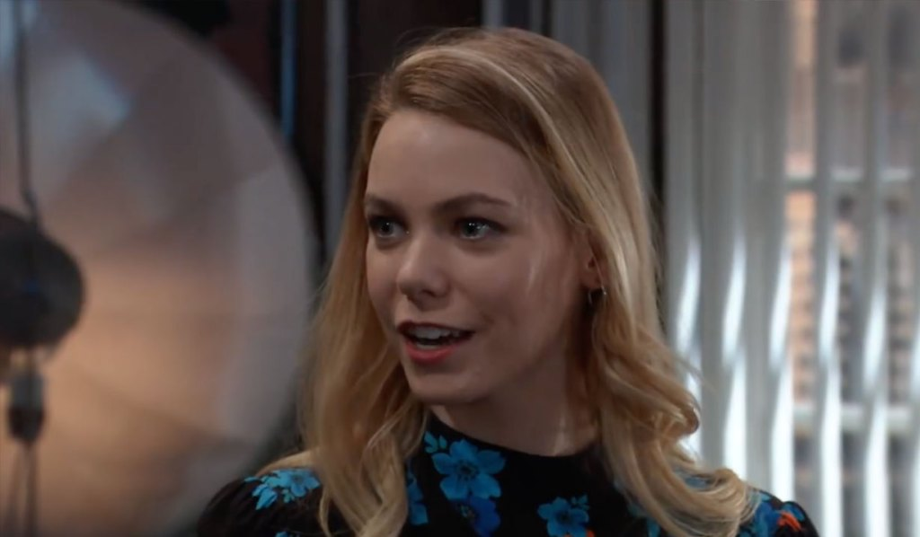 Nelle gloats she has a job on General Hospital