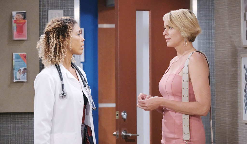 nicole suspicious dr raynor days of our lives