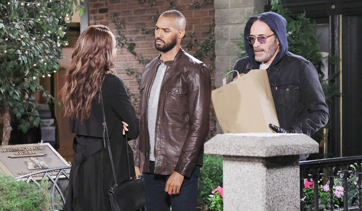 orpheus bumps into eli, lani days of our lives