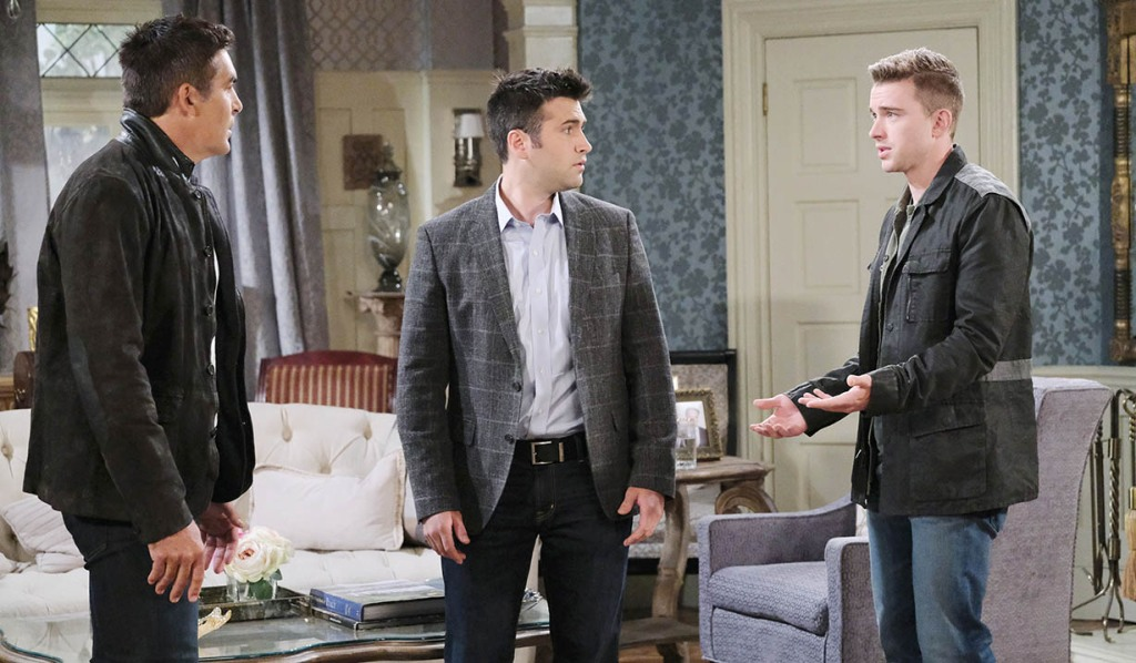 will, sonny tell rafe about crazy evan days of our lives