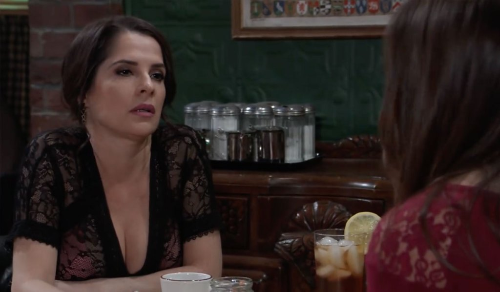 Sam and Molly discuss TJ on General Hospital
