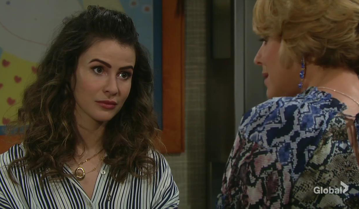 nicole asks for dna test days of our lives