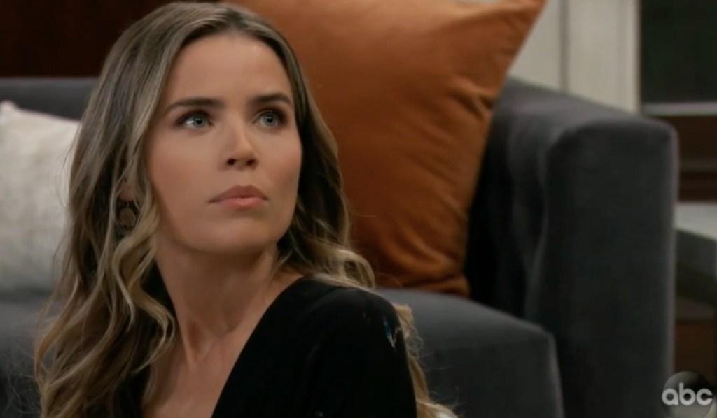 Sasha gets bad news from Michael on General Hospital