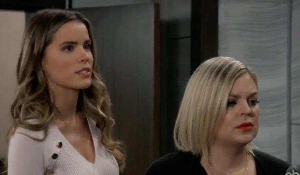 Sasha and Maxie are furious over Valentin on General Hospital