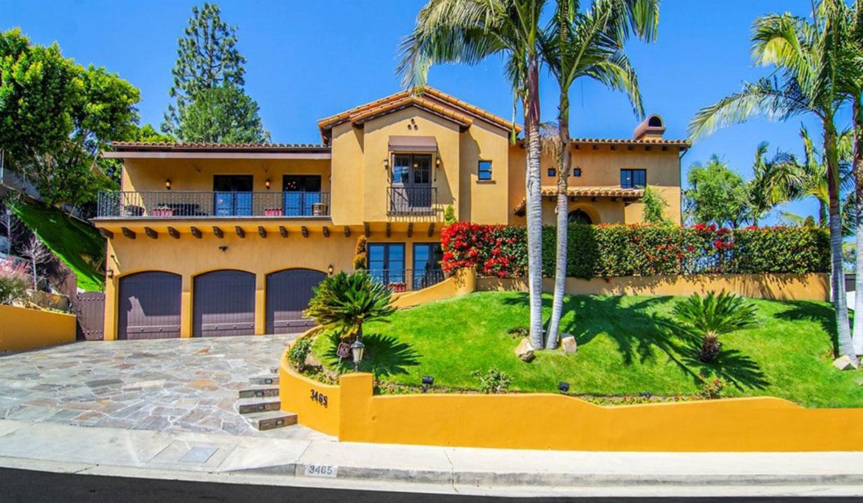 Shemar Moore's Spanish Villa for sale