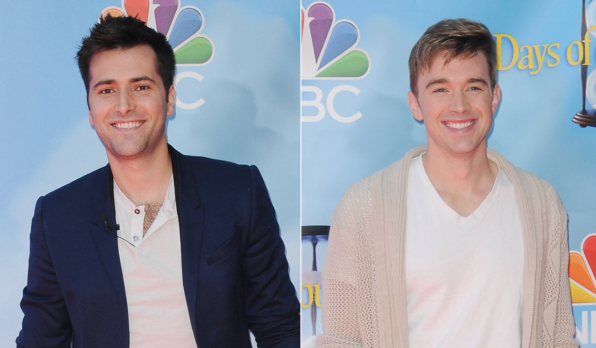 Freddie Smith and Chandler Massey of Days of our Lives