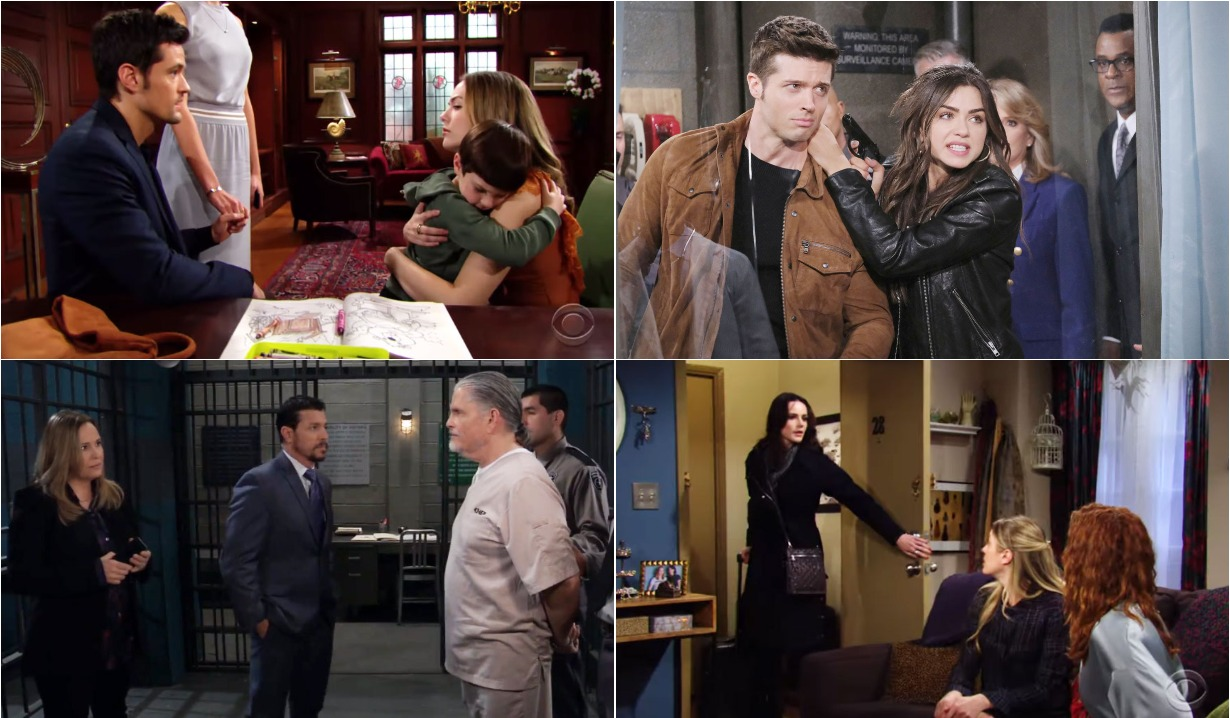 soaps roundup March 9 bold and beautiful days of our lives general hospital young and restless