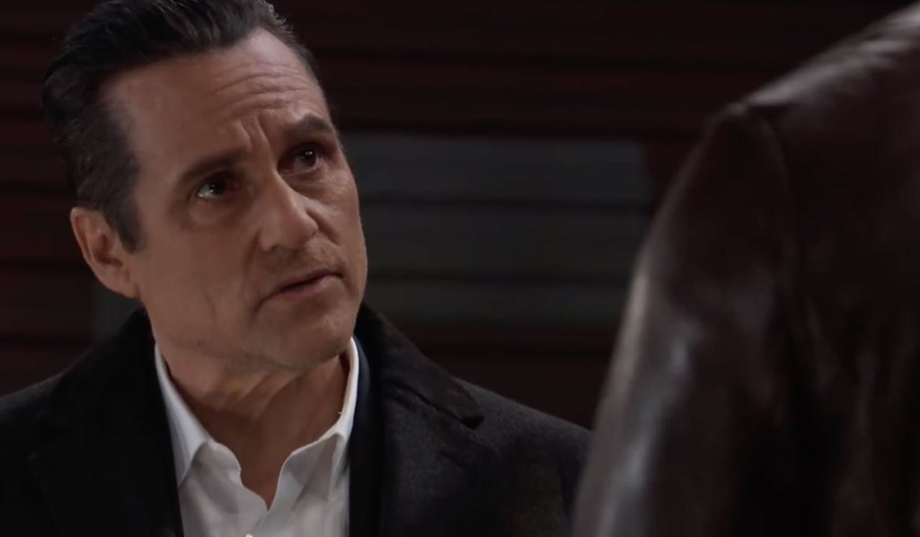 Sonny and Curtis discuss Cyrus on General Hospital
