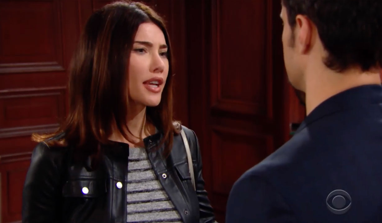 Steffy confronts Thomas about Hope on Bold and the Beautiful