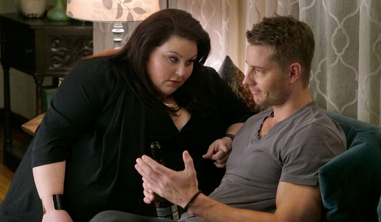 this is us pilot justin hartley and chrissy metz