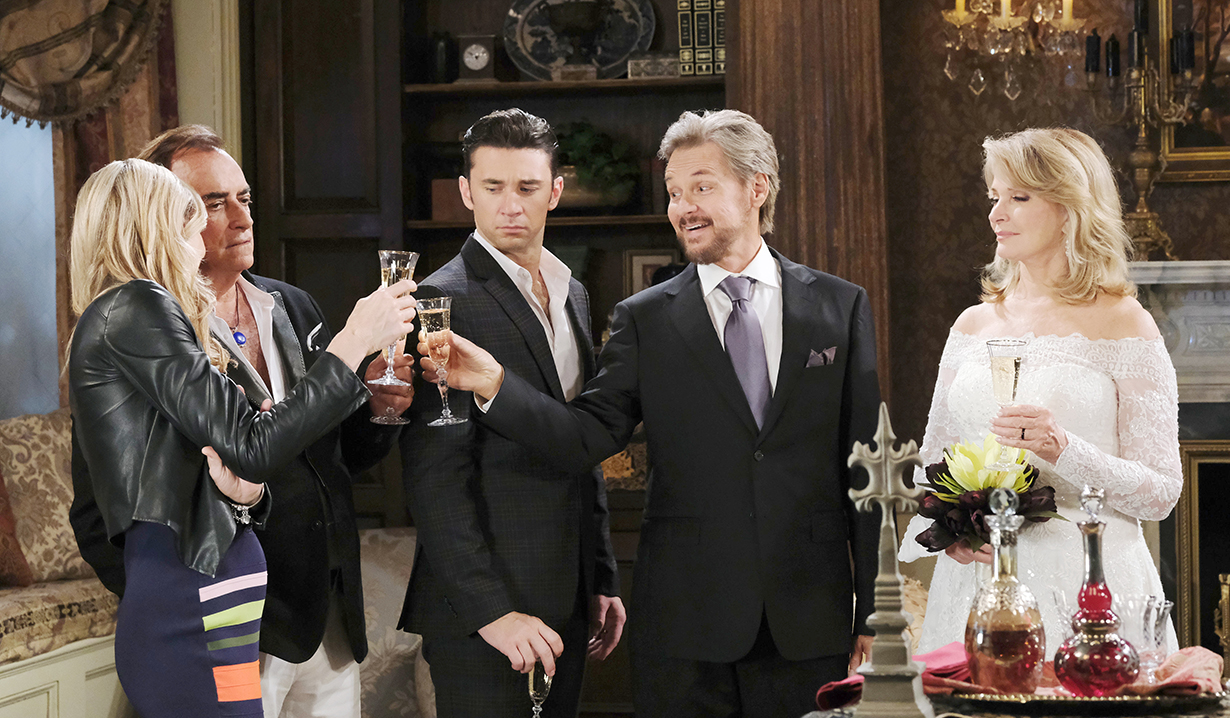 stevano celebrates marrying marlena days of our lives