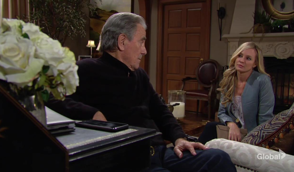 Victor won't up to Sharon at the ranch The Young and the Restless