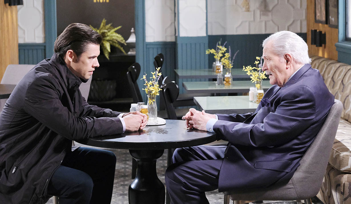 xander and vic talk secrets and lies days of our lives