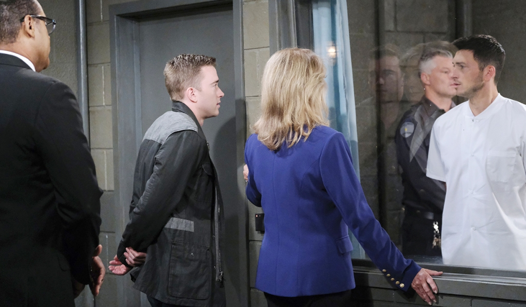 Marlena says bye to Ben days of our lives
