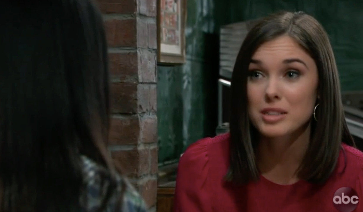 Willow wants the truth from her mother on General Hospital