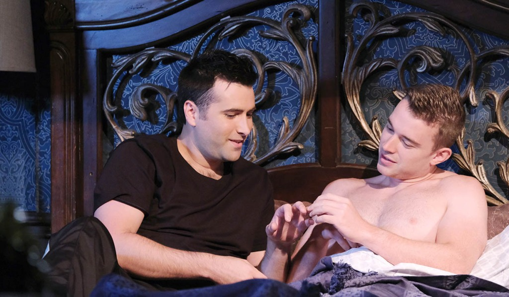 will and sonny reunite bed days of our lives