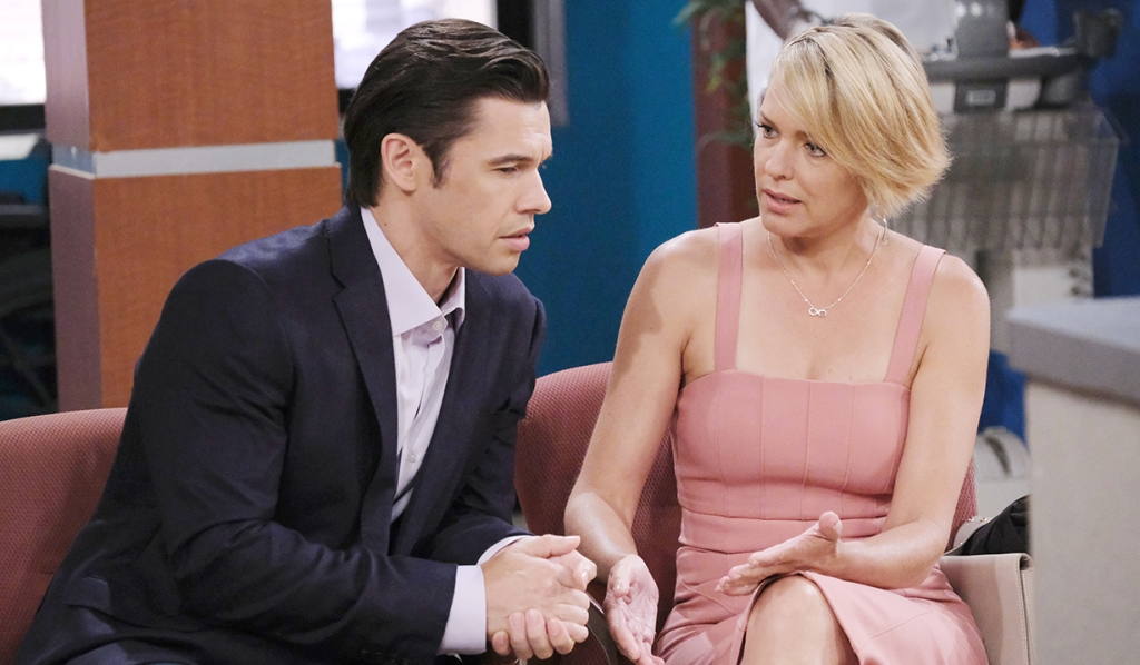 nicole and xander wait on mickey days of our lives