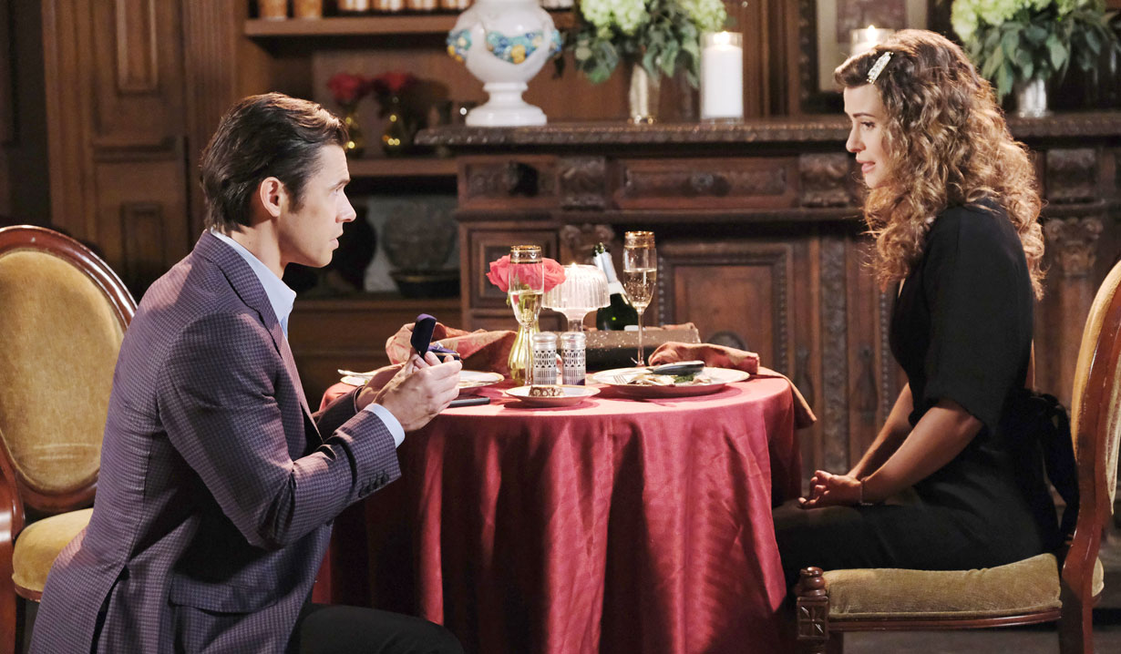 xander proposes to sarah at the bistro days of our lives