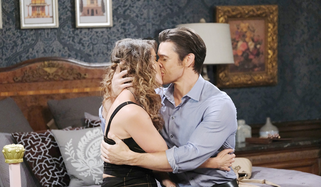 xander kisses fiance days of our lives