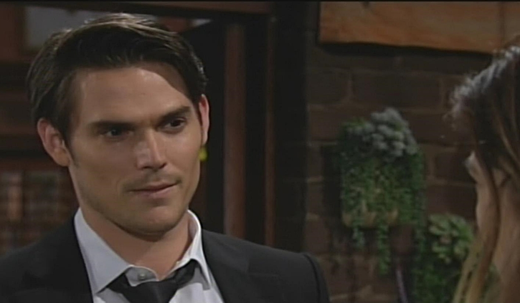 Adam squares off with Victoria Young and Restless