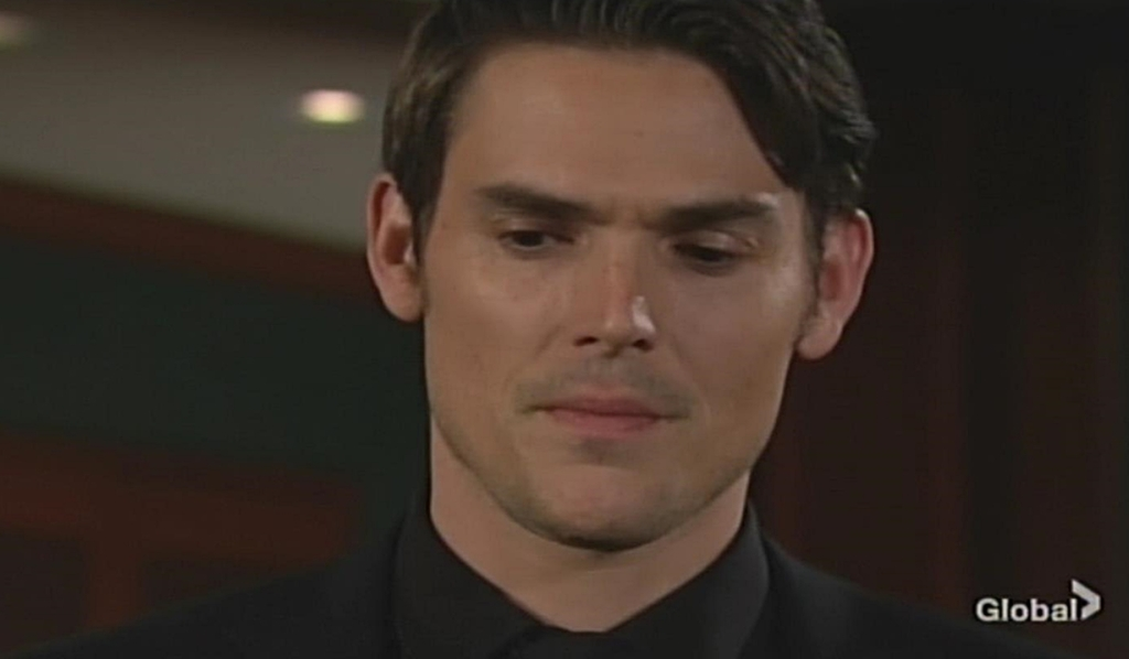 Adam wishes Victor's idea Young and Restless