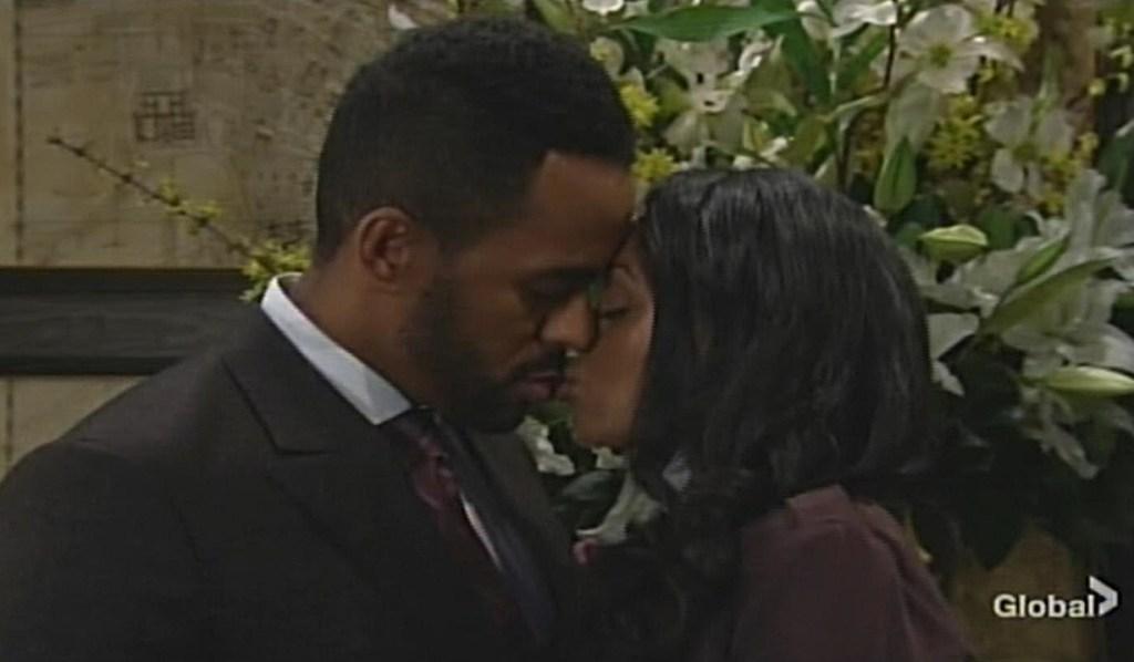 Amanda, Nate kiss Young and Restless