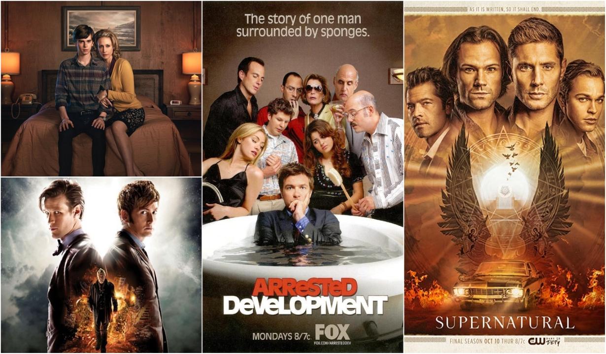 Btes Motel Dr Who Arrested Development Supernatural