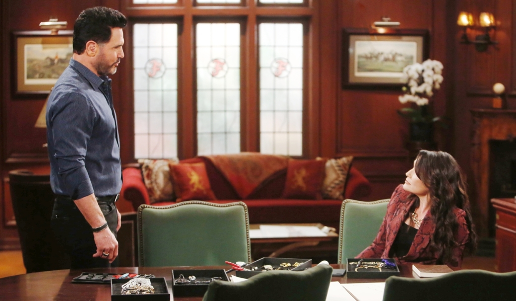 Bill confronts Quinn Bold and Beautiful