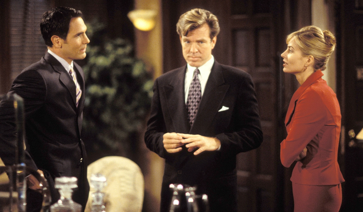 Brad, Jack, Ashley office Young and Restless