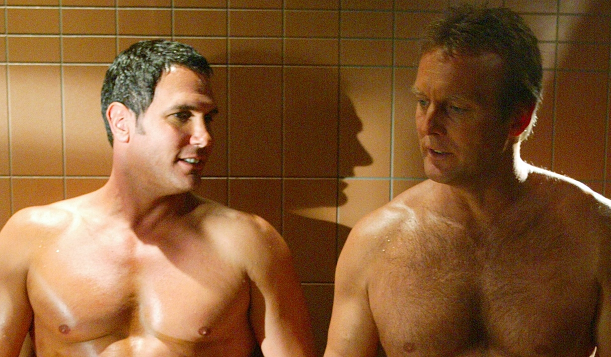 Brad, Paul sauna Young and Restless