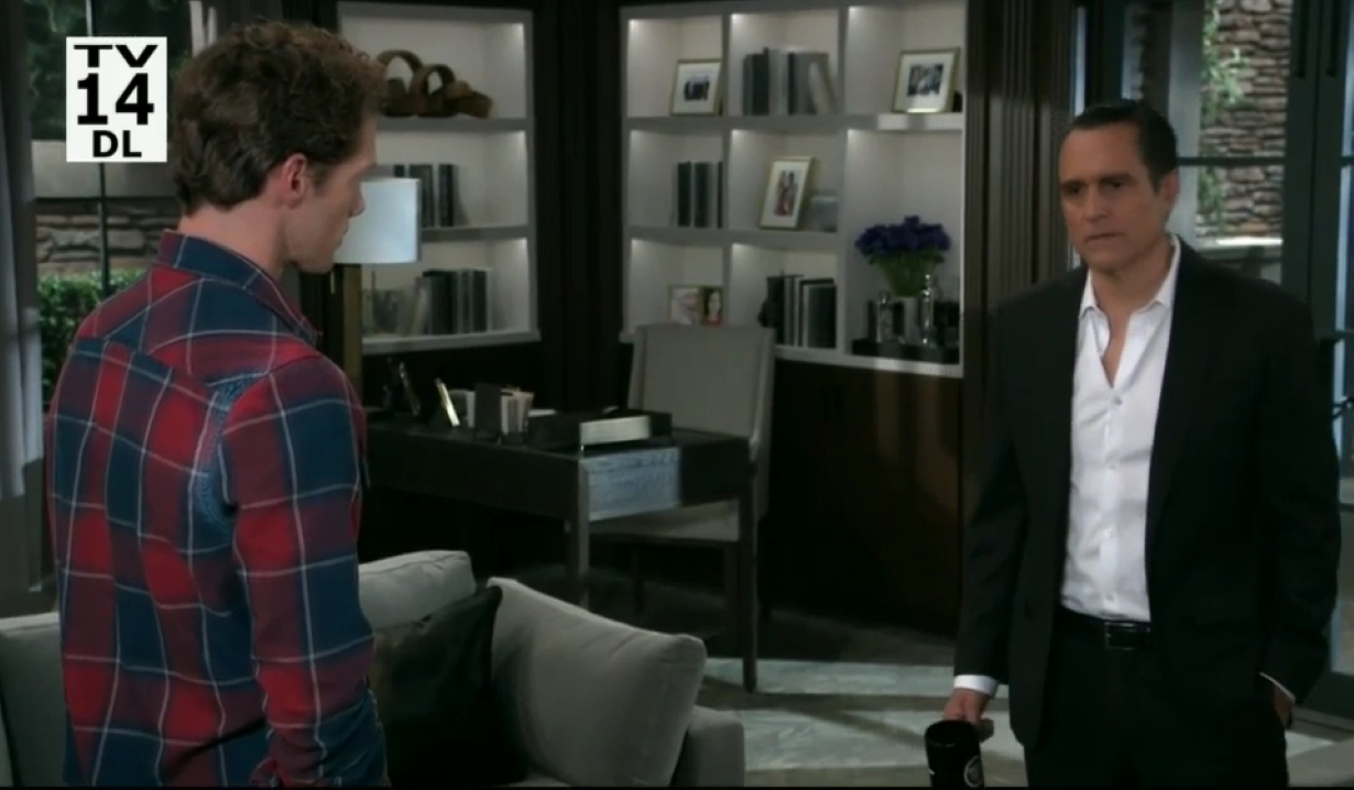 Brando and Sonny talk future at Corinthos compound General Hospital