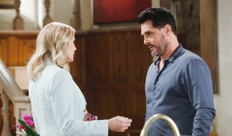 Brooke, Bill visit Bold and Beautiful
