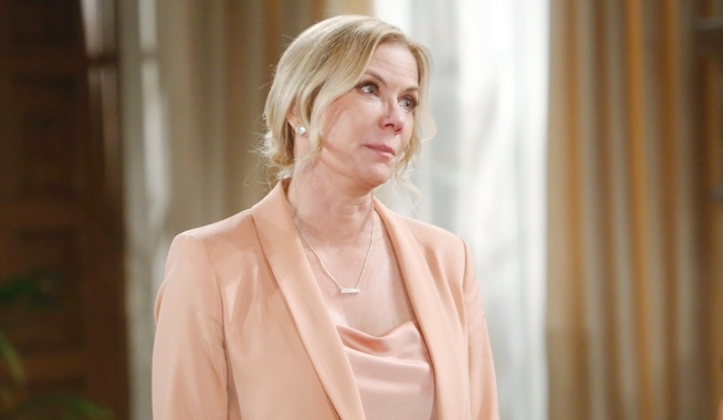 Brooke searches for Ridge Bold and Beautiful