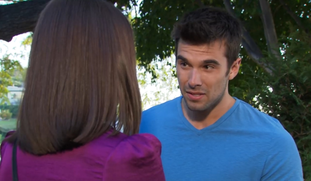 Chase reminds Willow it's her choice to make in park General Hospital