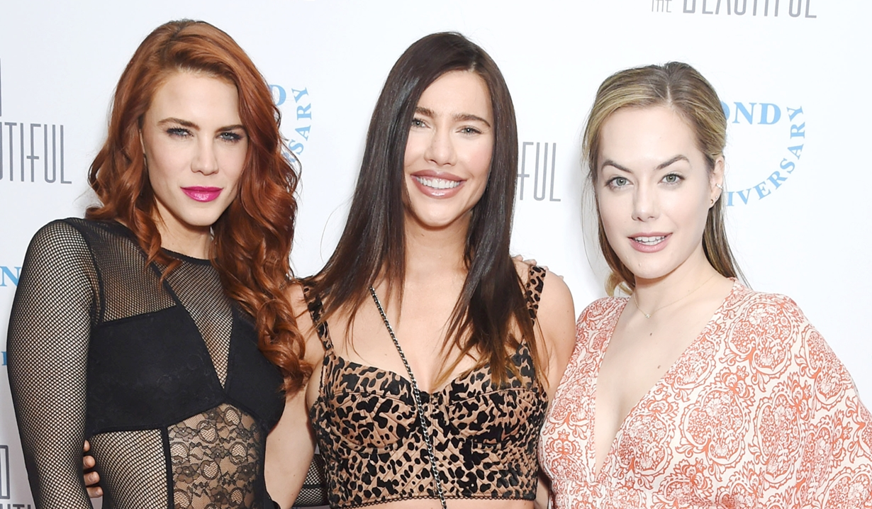 Courtney Hope, Jaqueline MacInnes Wood, Annika Noelle makeover video Bold and Beautiful